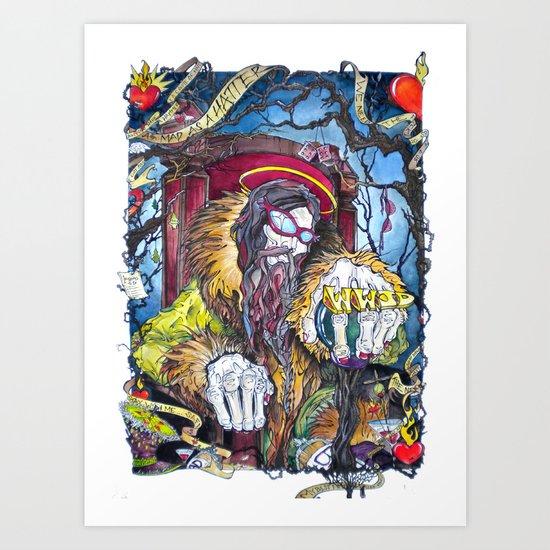 The Hatter Art Print