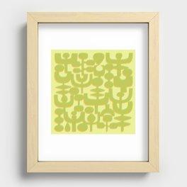 MCM #1 Recessed Framed Print