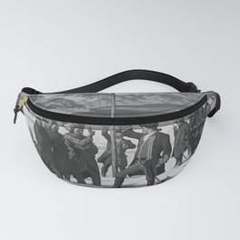 retro classic Pittsburgh poster Fanny Pack