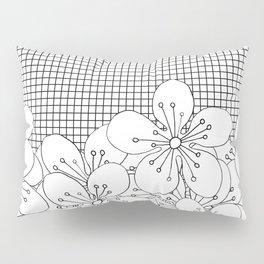 Cherry Blossom Grid - In Memory of Mackenzie Pillow Sham