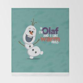 Olaf Throw Blanket