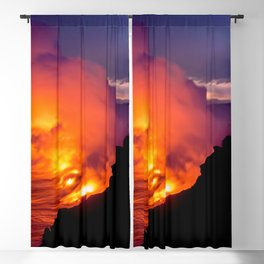 Sea of Flames Blackout Curtain