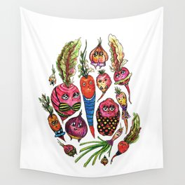 Roots in Suits Wall Tapestry
