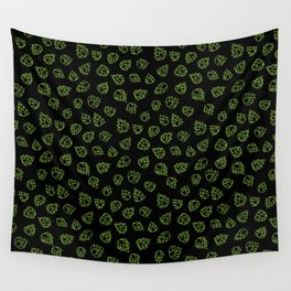 Hopcone Pattern Wall Tapestry
