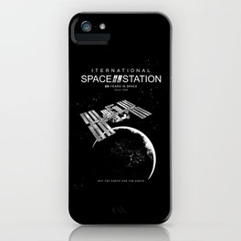 ISS-International Space Station-NSA-ESA-Soyuz-Space Shuttle-Astronomy iPhone Case