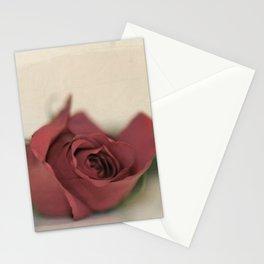 Single Rose fine art photography Stationery Cards