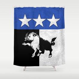 Doran Crest Shower Curtain
