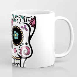 Sugar Skull Mexican Coffee Mug