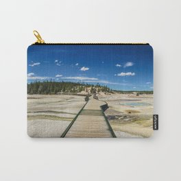 Norris Geyser Basin, Yellowstone National Park Carry-All Pouch