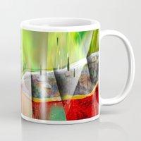 hollywood Mugs featuring Hollywood by DARWIN STEAD