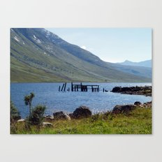 Loch Etive at Gualachulain Canvas Print