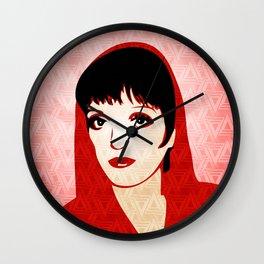 Liza Minnelli - Warhol Era - Pop Art Wall Clock