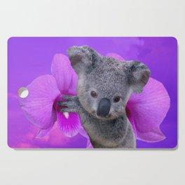 Koala and Orchid Cutting Board