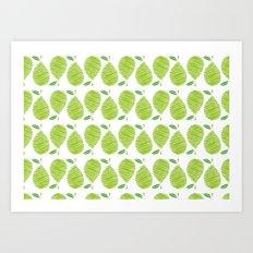 English Pear Art Print