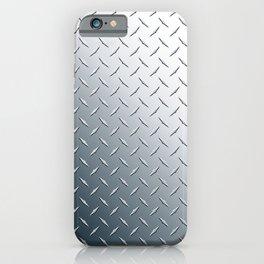 Diamond Plate Metal Pattern iPhone Case