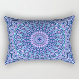 Purple Passion - Mandala Art Rectangular Pillow