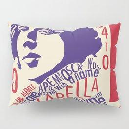 Oscar Wilde - La Bella Donna Della Mia Mente Pillow Sham
