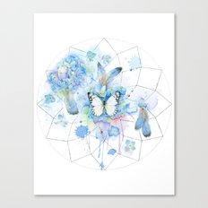 Dreamcatcher No. 1 - Butterfly Illustration Canvas Print