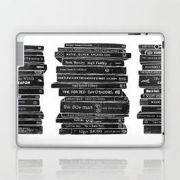 Mono book stack 1 Laptop & iPad Skin