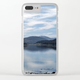 View over the Loch Clear iPhone Case