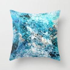Water's Dance Throw Pillow