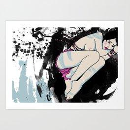 Pink Panty Art Print
