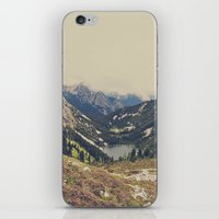 beach iPhone & iPod Skins featuring Mountain Flowers by Kurt Rahn