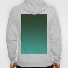 SHADOWS AND COUNTERPARTS - Minimal Plain Soft Mood Color Blend Prints Hoody
