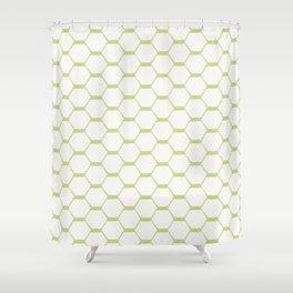 hexagon (2) Shower Curtain
