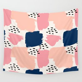 Abstract Pastels Wall Tapestry