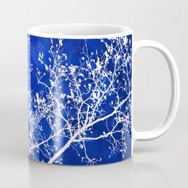 Blue Tree Abstract Coffee Mug