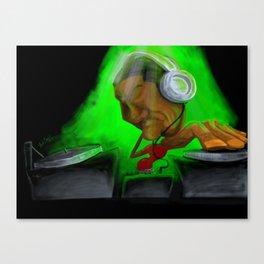 DJ Loud Canvas Print