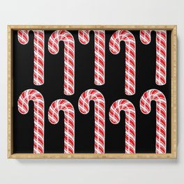 Candy Cane x10 Serving Tray