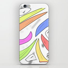 in IS out iPhone Skin