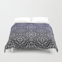 wallpaper Duvet Covers featuring Wallpaper by MinaSparklina
