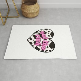 eat the rich! <3 Rug