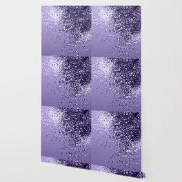 ULTRA VIOLET Glitter Dream #1 #shiny #decor #art #society6 Wallpaper