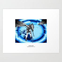 MOUNTAIN GLACIER TOUR II Art Print