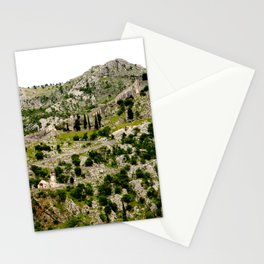 The Fort Above Kotor, Montenegro Stationery Cards