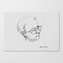 SERIOUS DESIGNER Canvas Print