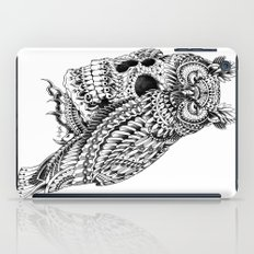 Great Horned Skull iPad Case