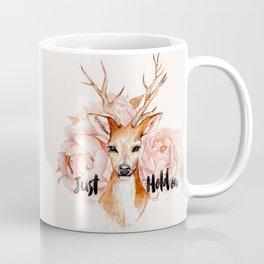 Just hold on- Deer Coffee Mug