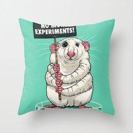 No more experiments! Throw Pillow