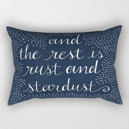Rust and Stardust Rectangular Pillow