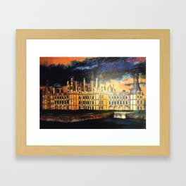 Chambord Chateau – Romantic France Framed Art Print