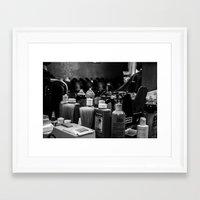 fancy Framed Art Prints featuring fancy. by Cooper Roberts