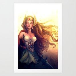 She-Ra Art Print