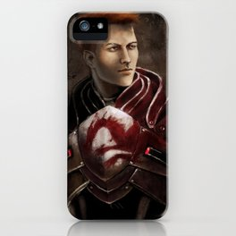 Krem - Dragon Age/Mass Effect crossover iPhone Case