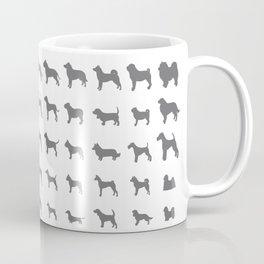 All Dogs (Grey/White) Coffee Mug