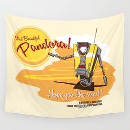Visit Pandora! Wall Tapestry